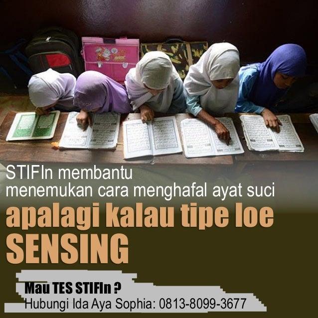 STIFIn tangerang soft skills indonesia fokus satu hebat Slide 3