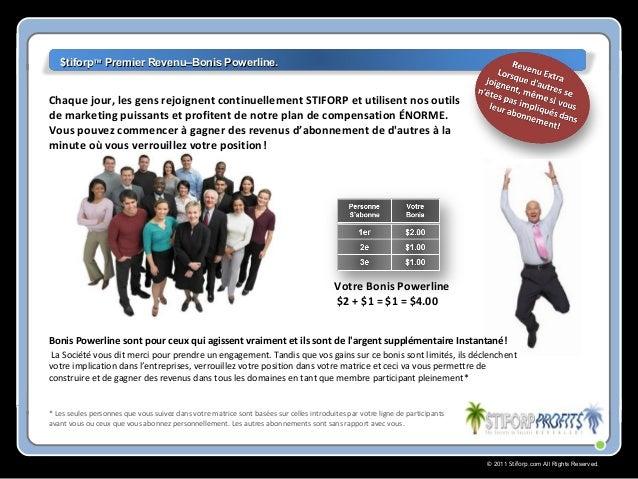 © 2011 Stiforp.com All Rights Reserved. * Les seules personnes que vous suivez dans votre matrice sont basées sur celles i...