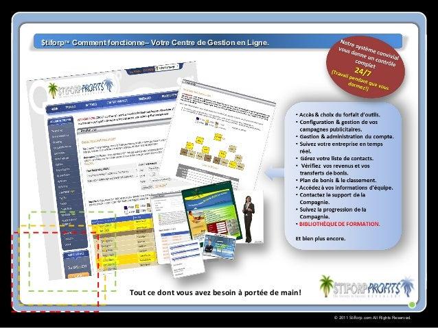 © 2011 Stiforp.com All Rights Reserved. Tout ce dont vous avez besoin à portée de main! $tiforp$tiforp™™ Comment fonctionn...