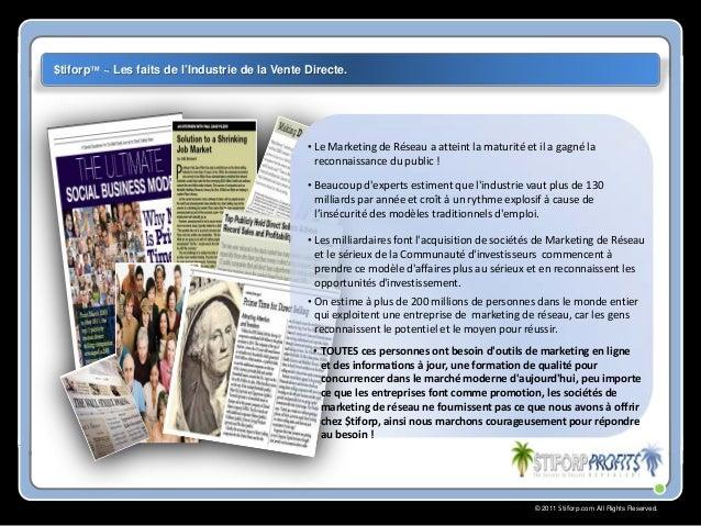 Stiforp ,Promouvoir votre entreprise avec des outils professionnels Stiforp! Slide 3