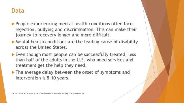 Stigma And Discrimination And Mental Illness