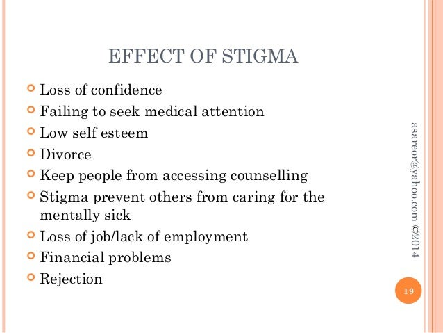 Lying and the negative consequences and stigma