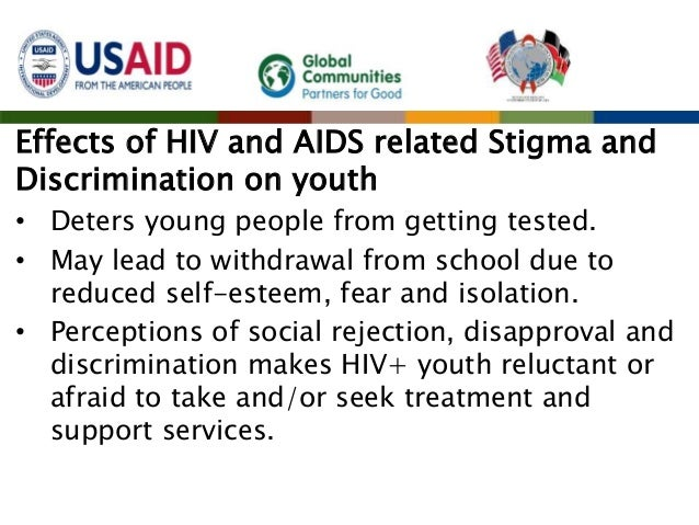 A discussion on the discrimination against people with hivaids