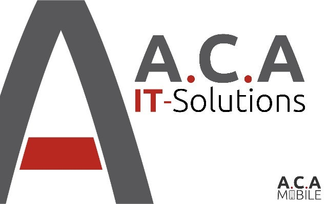 ACA IT-SOLUTIONS | © 2015