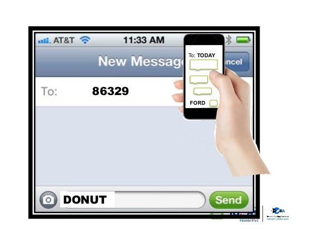 TCPA rules were unsettled. It can be difficult to remember a 6 digit texting short-code.