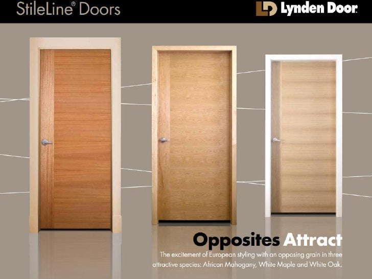 Stileline Doors Opposites Attract