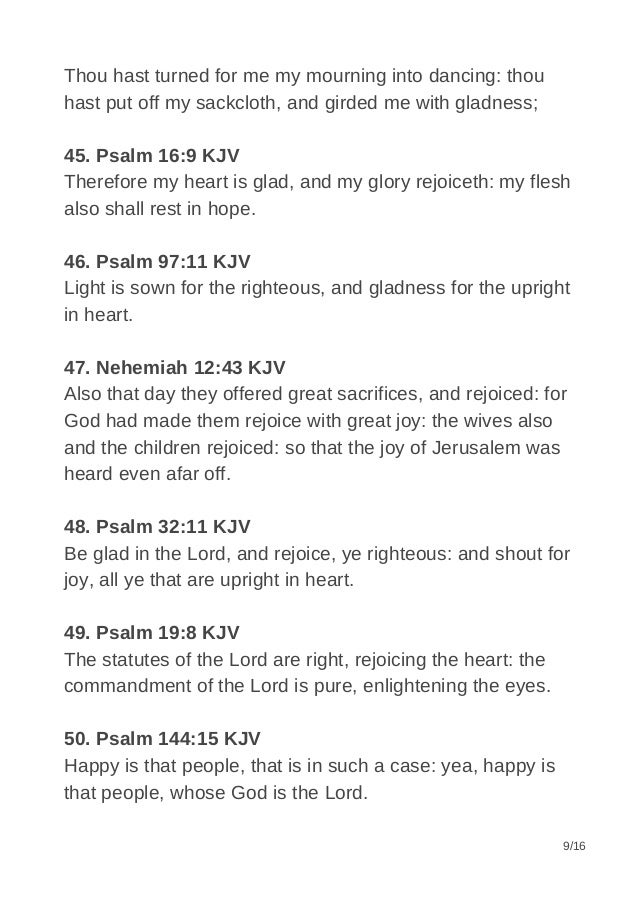 90+ Best Bible Verses about Joy & Happiness