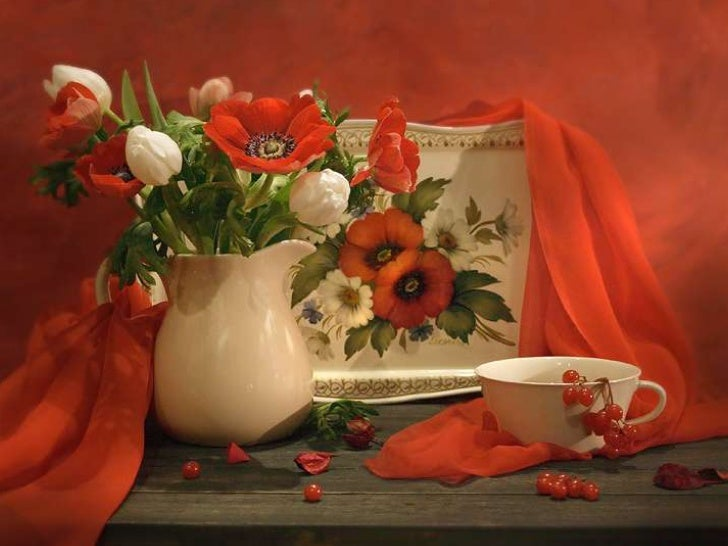 Still life, Bouquets .