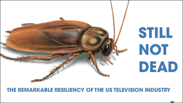 STILL NOT DEAD THE REMARKABLE RESILIENCY OF THE US TELEVISION INDUSTRY