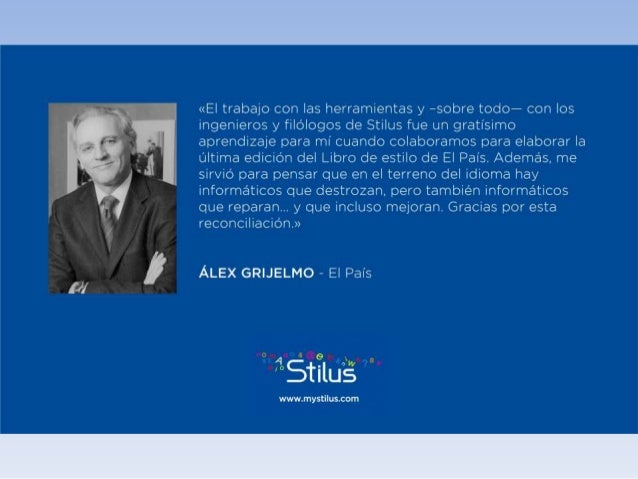Stilus - Testimonios