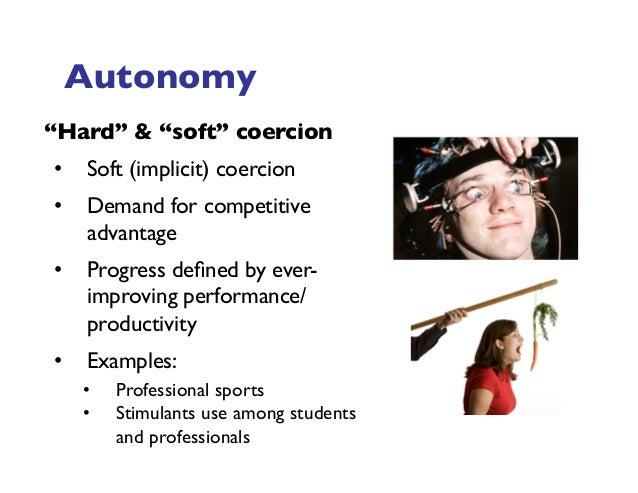 Explicit and implicit coercion