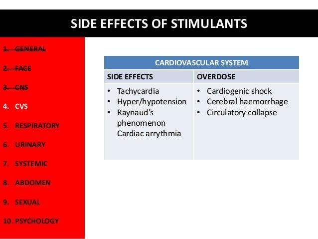 Effects Of Stimulants Management of Substanc...