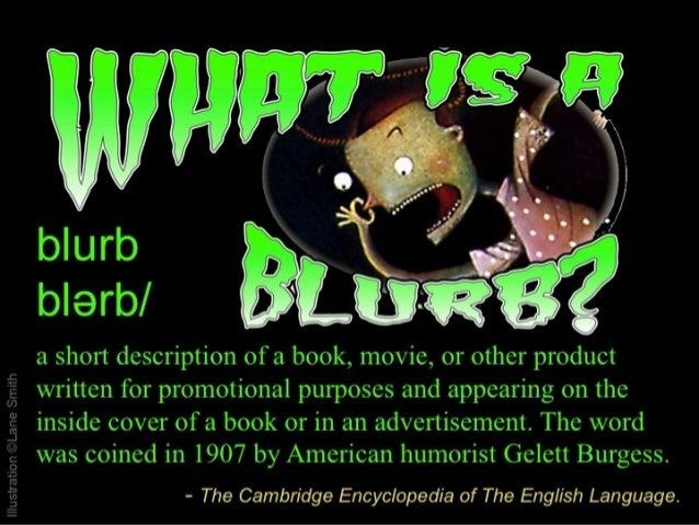 Attack of the Killer Blurb!