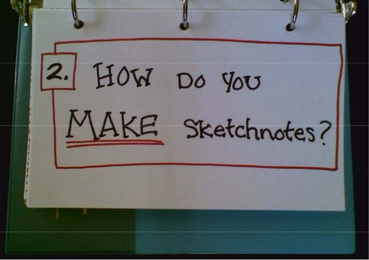 Sketchnotes for Developers (i.e. Everyone)