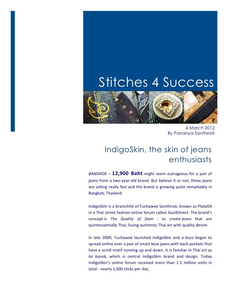 Stitches 4 Success                                                                                         6 March 2012   ...