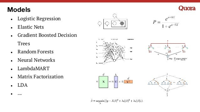 Models ● Logistic Regression ● Elastic Nets ● Gradient Boosted Decision Trees ● Random Forests ● Neural Networks ● LambdaM...