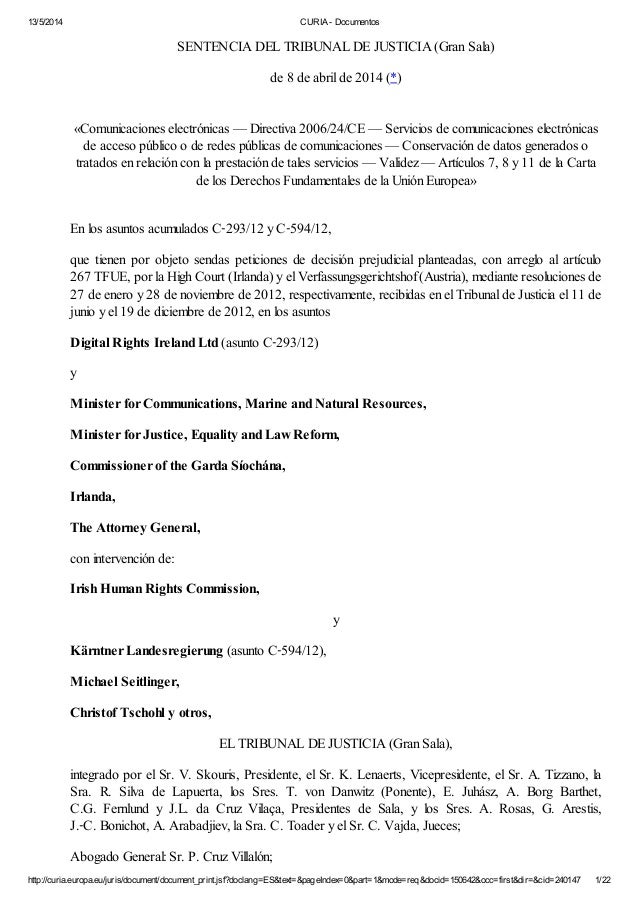 13/5/2014 CURIA - Documentos http://curia.europa.eu/juris/document/document_print.jsf?doclang=ES&text=&pageIndex=0&part=1&...