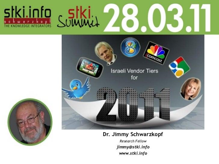 Dr. Jimmy Schwarzkopf     Research Fellow    jimmy@stki.info      www.stki.info