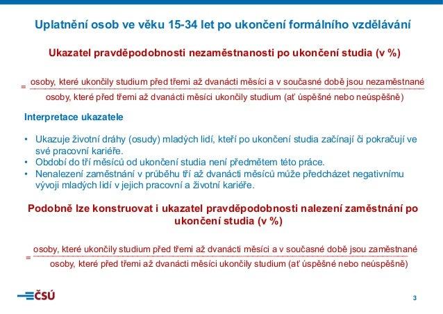Mladí lidé na trhu práce (2014) Slide 3