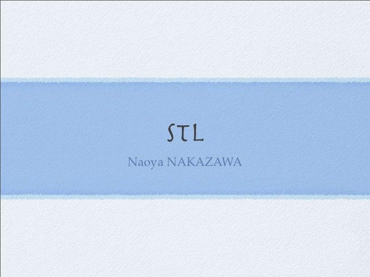 STL Naoya NAKAZAWA