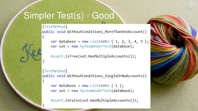 Inconsistent Test - Bad