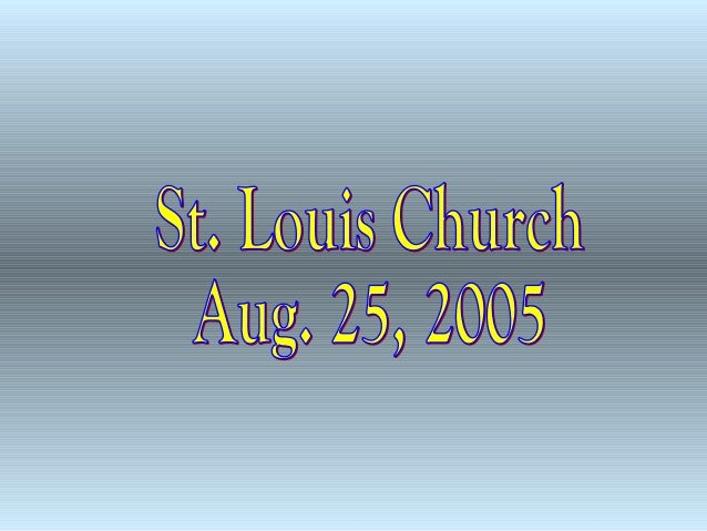 St. Louis Church, Fond du Lac, Tour & Closing