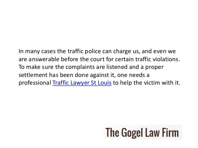How Much Is A Ticket For Driving Without A License >> St louis traffic lawyer