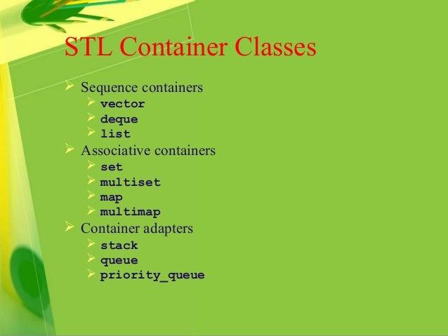 C++ STL 概觀