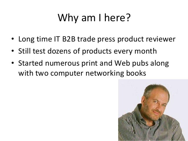 How to get the best trade press product reviews Slide 2
