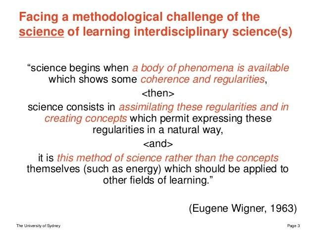 Developing and researching interdisciplinary skillfulness  Slide 3
