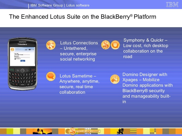 Lotus Notes Domino Strategy Update Dec 2009