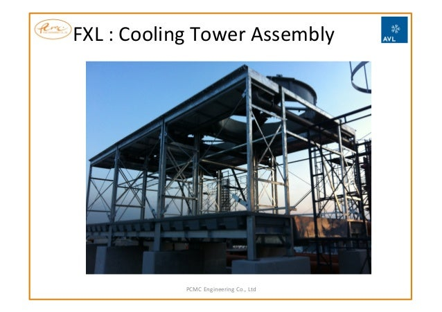 FXL  :  Cooling  Tower  Assembly   PCMC  Engineering  Co.,  Ltd