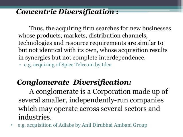 STRATEGIES FOR ENTERING NEW BUSINESSES Acquisition Internal new venture (start-up) Joint venture Diversifying into New Bus...