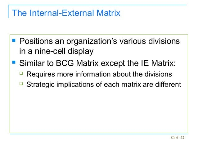 nine cell matrix p g Ge nine cell matrix   different factors can be used to define industry  attractiveness like:- market size, market growth rate, demand variability.