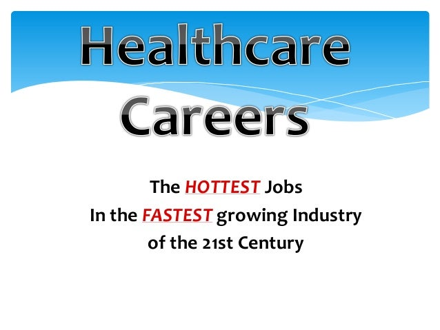 The HOTTEST Jobs In the FASTEST growing Industry of the 21st Century