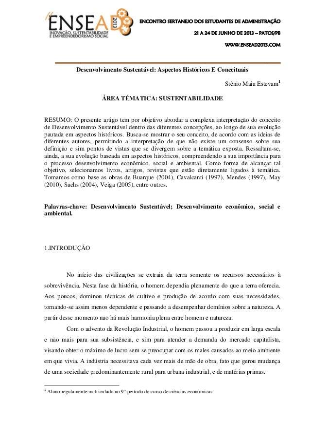 ENCONTRO SERTANEJO DOS ESTUDANTES DE ADMINISTRAÇÃO 21 A 24 DE JUNHO DE 2013 – PATOS/PB WWW.ENSEAD2013.COM ________________...