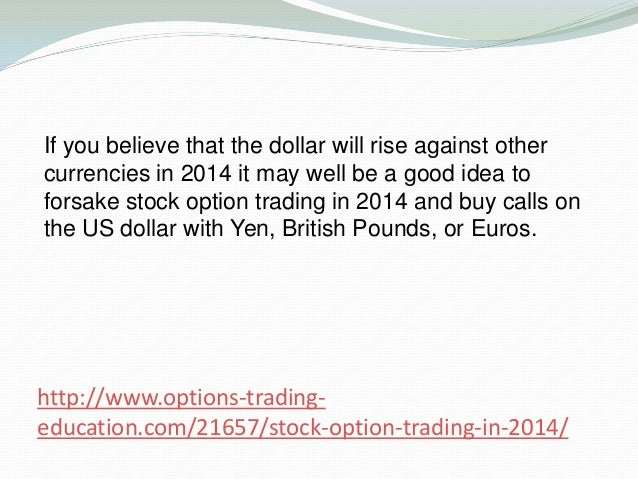 Stock options for 2014