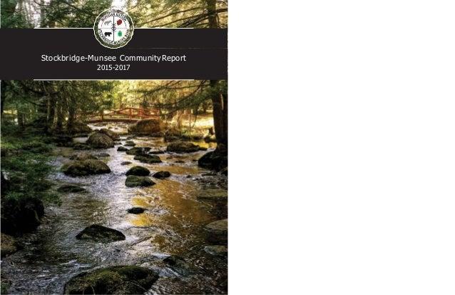 Stockbridge-Munsee CommunityReport 2015-2017