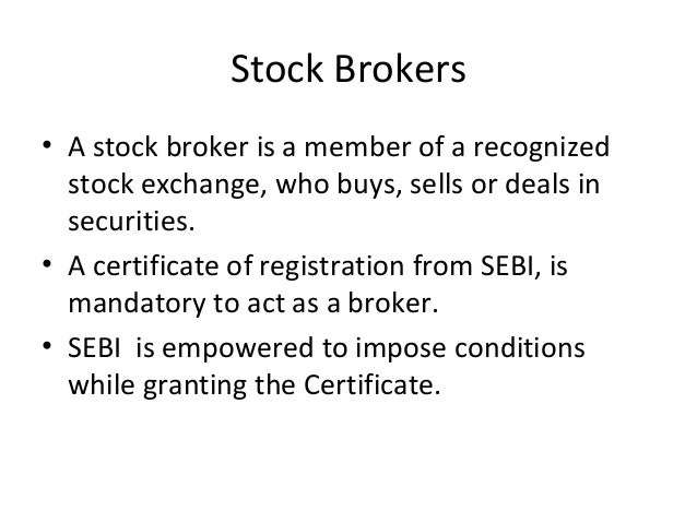 definition of broking