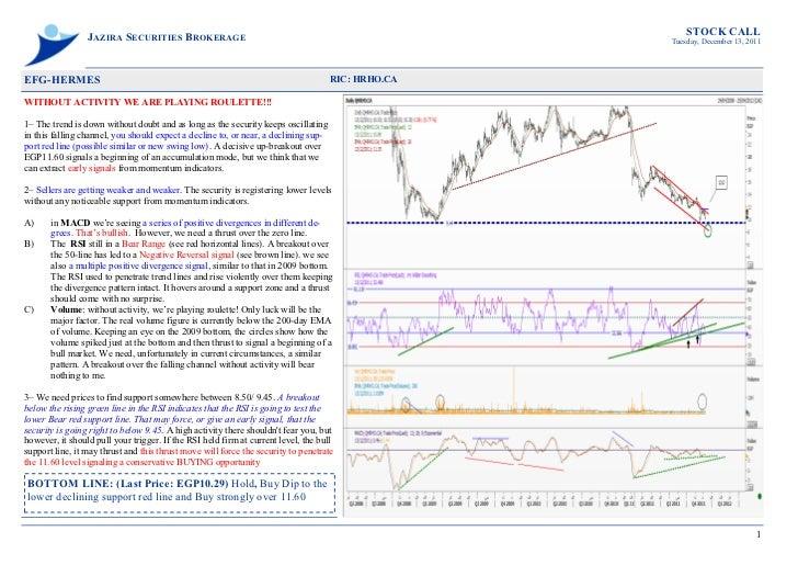 STOCK CALL                 JAZIRA SECURITIES BROKERAGE                                                        Tuesday, Dec...