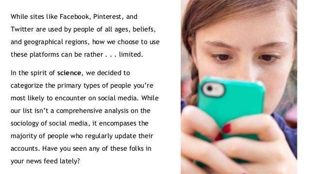 The 14 Stock Characters of the Social Media World Slide 2