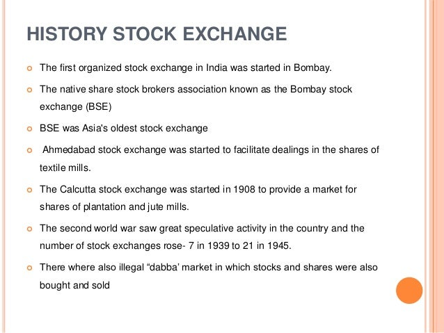 indian stock broker association