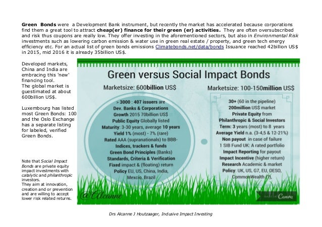 Stock Exchanges And Impact Investing