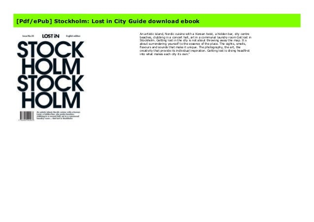 Stockholm LOST iN City Guide
