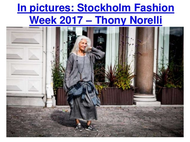 In pictures: Stockholm Fashion Week 2017 – Thony Norelli