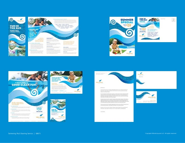 Stocklayouts portfolio samples graphic design ideas for Pool design graphic