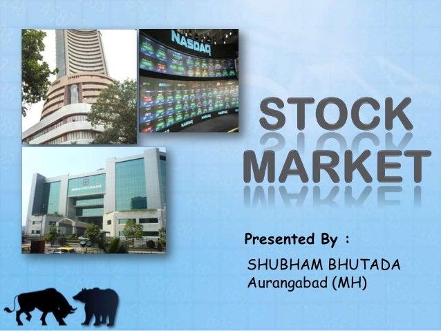 Presented By : SHUBHAM BHUTADA Aurangabad (MH)