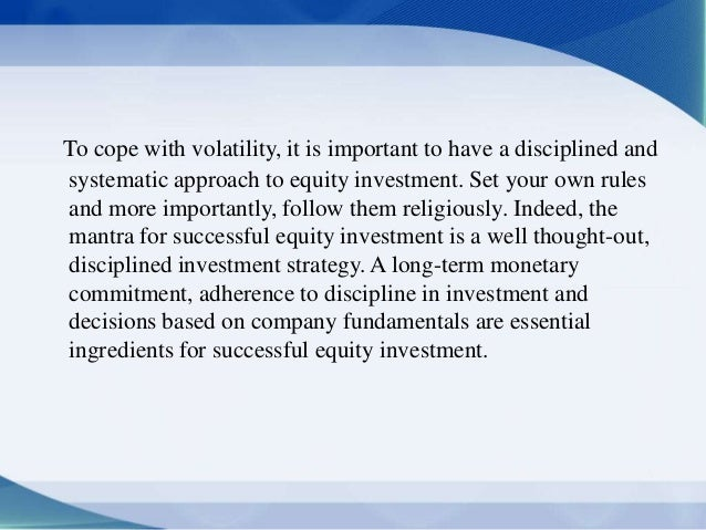 Equity trading strategy pdf