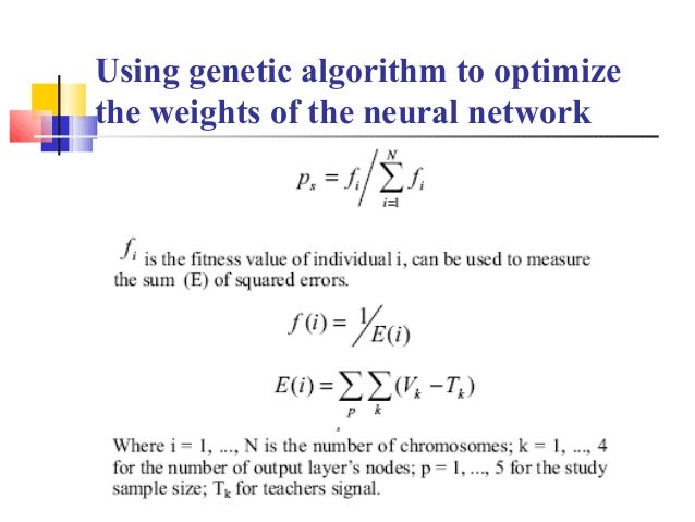 Stock market analysis using ga and neural network – Stock Market Analysis Sample