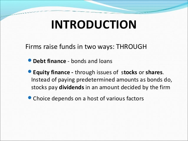 Stock options basics india